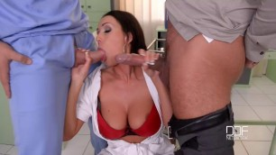 Patty Michova Busty Nurse Caught Pussy Fucked On The Job
