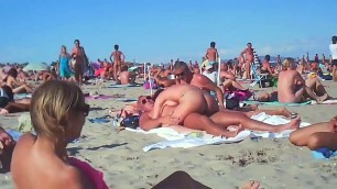 Compilation of beach nude sex