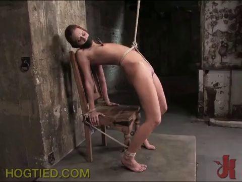 100 Girls naked bondage