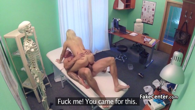 Slutty Seductive blonde banged in hospital