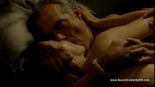 Annie Wersching Nude Bosch Sensual sex in bed