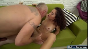 Old prick rails young petite pussy Terry