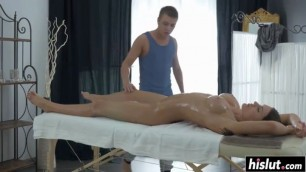 Passionate Kitana Lure gets fucked by a masseur
