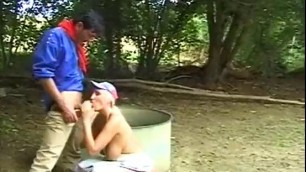 Kathleen White As A Farmer Bitch Outdoor Sex