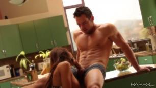 Babes Kitchen Fun Madison Ivy Passionate romantic sex