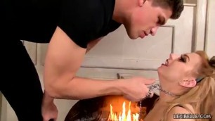 Sexual Teen Lexi Belles Hungry Pussy Gets the Cream