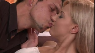 Charming Kayden enjoys romantic hookup with Angelo