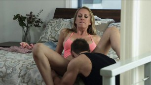Blonde and brunette fuck with a guy My sister husband