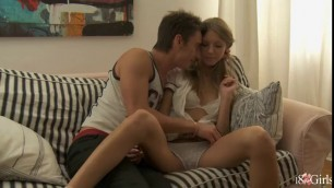 Alluring Anjelica gets her ass gaped by horny bloke