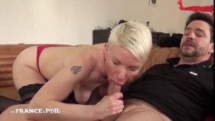 French mature Mia gets ass pounded by stranger