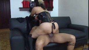 Latina dominatrix claudia is cock hungry