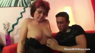 Experienced Emo Grandma Jana Pesova Fucked In Sexy Stocki