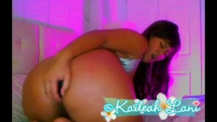 Delightful Kaileah Lani love this big booty beauty