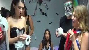Halloween Dress Down Pretty Girls Sophia Leone Michelle Martinez Joseline Kelly