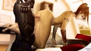HARLEY QUINN SFM dick in her pussy Compilation