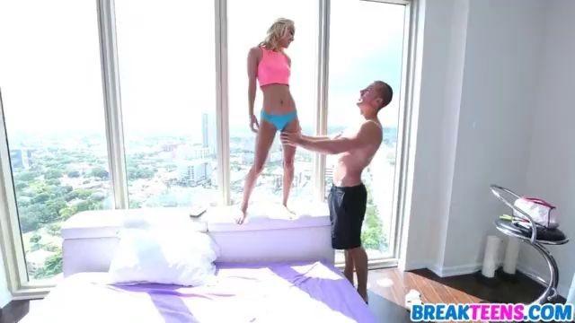Amazing Sexy Blonde Teen Uma Jolie Gets Fucked