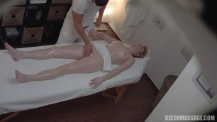 Czech girl wants to fuck with a massage therapist on the couch 295
