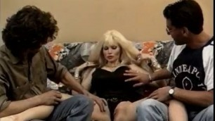 Hot Lolo Ferrari makes some men very happy with he huge breasts