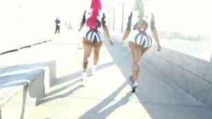 Bunz4ever Black kids with big asses are dancing striptease