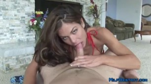 Get a POV blowjob from the horny MILF Nasha who is desperate for a cock