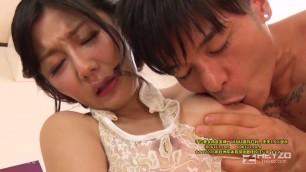 1359 Azumi Nakama her beautiful plump breast is caressed