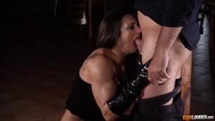 Amazing Argentina muscular pornstar first anal