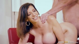 Sara Jay Big Boobs Putting Her Tits To Good Use