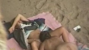 nudists and sex naked couple fucks on the beach