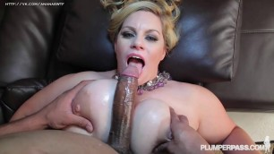 Tiffany Blake big fat girl fucks with a black guy
