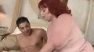 Sweet redhead BBW Woman gets her fleshy pussy pounded 2
