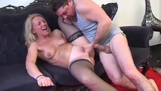 Horny Mom Rosen Takes It From Behind