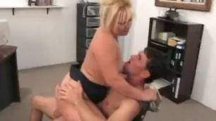 Bbw Oksana Banged In The Office