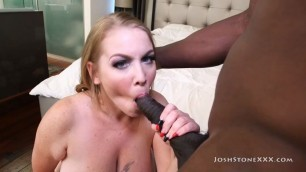 Josh Stone Xxx Desiree Deluca Busty Blonde Milf Desiree Deluca Craves Huge Ebony Dick