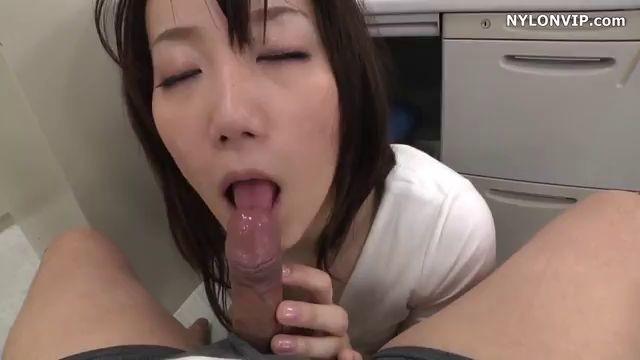 Asian Girl Kokomi Enjoys Office Fuck