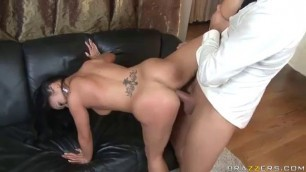 mya luanna fuck the waitress in a Chinese restaurant shaved beautiful pussy