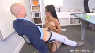Brittney sex porn videos White My Naked Boss Fucks me in the office on the table