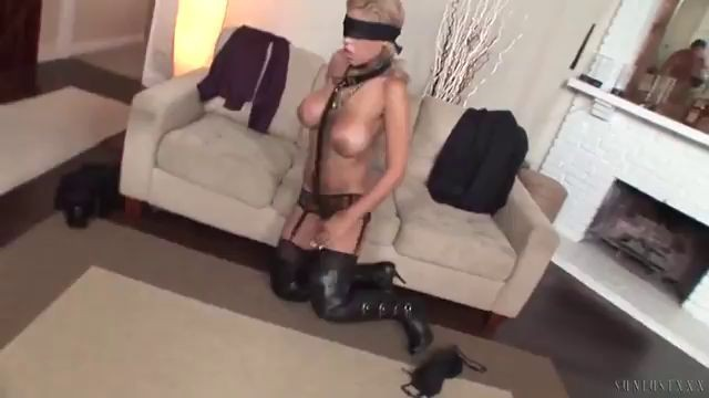 Blindfolded Slut Orgasm Cum Inside Mom