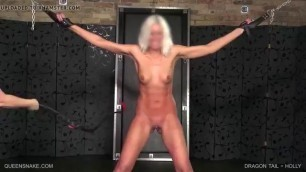 Woman Gets Chained And Toyed With Pornktube
