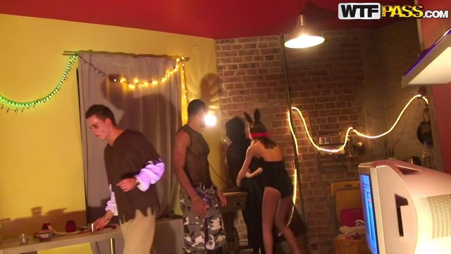 Collegefuckparties Sexy Teen Whores Crazy Halloween Party Part 2