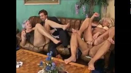 Granny Gets It Right Young Couple Sex