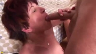 One cock for three grannies 91porn