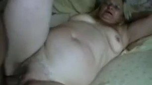 Fat Brazilian Granny Banging Candid Ass