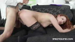 Master Bang Redhead Maid As He Likes Chubby Busty