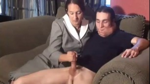 Sleepwalking Stepmom Strokes Son's Dick Sluttube