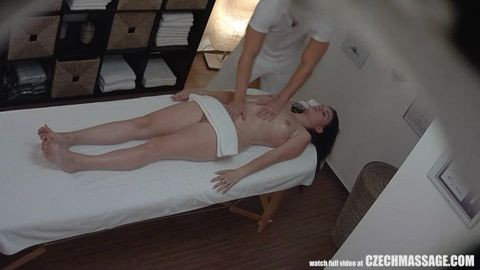 Czechmassage Sexi Massage Brunette Girls Gets Hard Fuck In