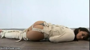 Girl Trapped In Straightjacket Bondage Bound Legs Yes Porn Pls