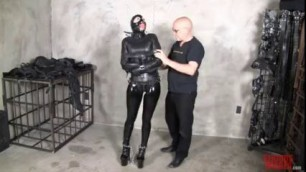 Leather Straightjacket Bondage Suspension Struggle Omegle Porn