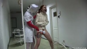 Straitjacket Caning And Masturbation Punishment Yes Porm
