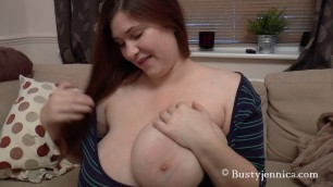 Bbw Girls With Big Tits Jennica Lynn Mission Make Him Cum