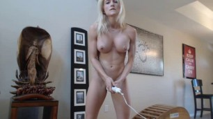 Hard Porn Haley Ryder Standing Hitachi Orgasm